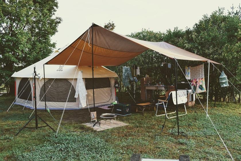 雨キャンプのよい所