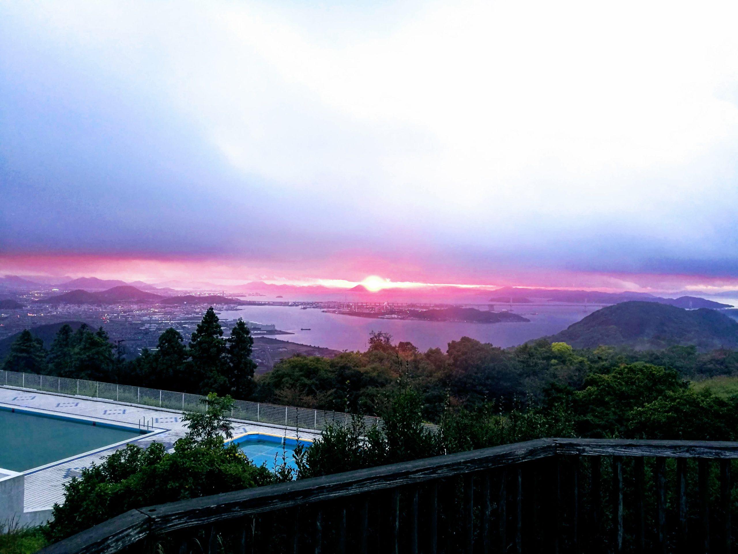 香川県・休暇村讃岐五色台でキャンプをしてきました