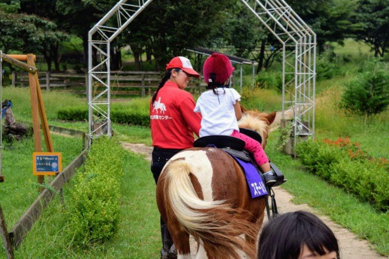 大山乗馬センター乗馬体験