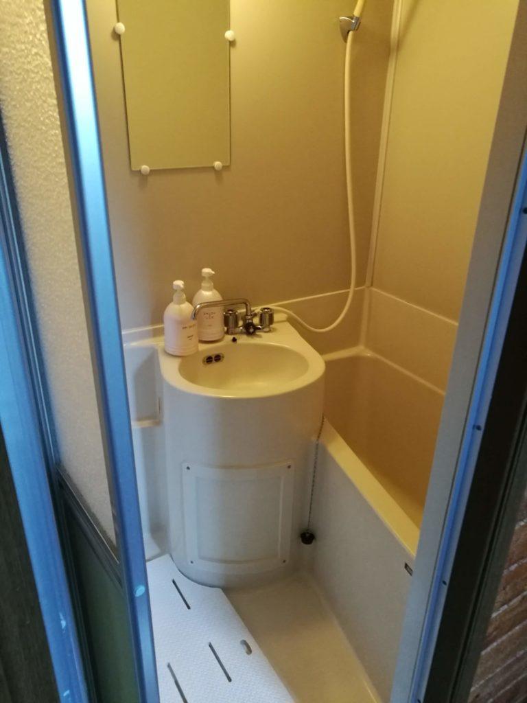 大山乗馬センターコテージシャワールーム